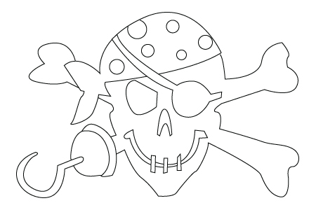 Pirate drawing