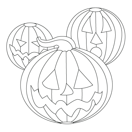 Pumpkin ornement drawing