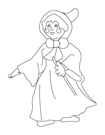 Mother Claus drawing